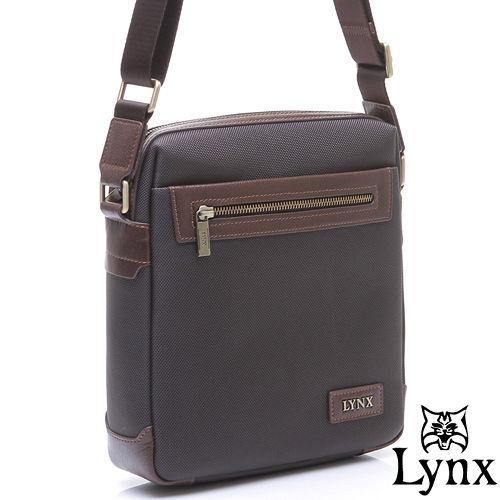 Lynx ~ 山貓紳士沉穩系列直立式真皮側背包~小~共2色