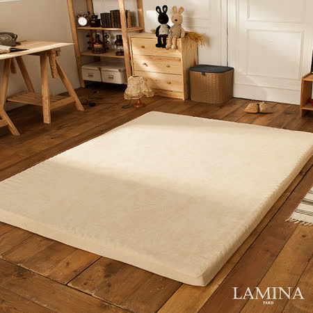 LAMINA  防汙透氣日式床墊5CM-單人