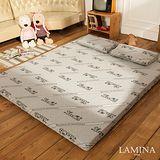 LAMINA  竹炭健康記憶床墊+枕頭(10CM)-雙人