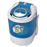 (輕鬆潔淨每一天)【金貝貝Beibei】即時洗2.5KG單槽柔洗機 JB-2205
