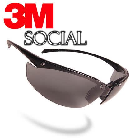 3M SOCIAL太平洋 百貨 中 壢 店 魅惑黑超質感運動眼鏡