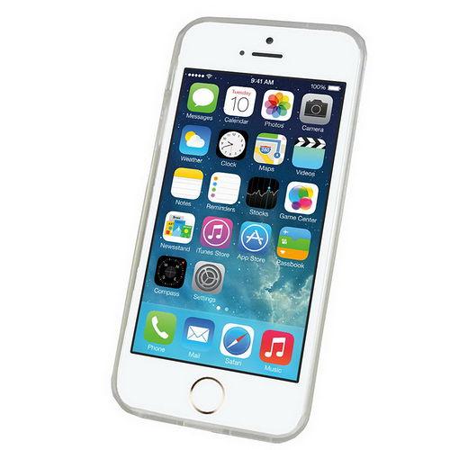 J21透明款iphone5S5手機清水套^(加贈螢幕保護貼^)