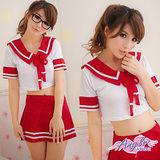 【天使霓裳】遇上高校制服女孩 學生服 制服 二件式 角色扮演