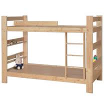 傑西3.5尺松木雙層床