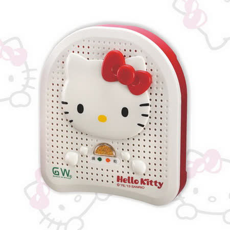 Hello Kitty 水玻璃除溼機-蝴蝶結(E-350KT)