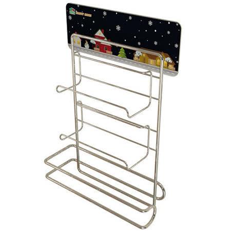 居家收納-保鮮膜廚房紙巾放置架
