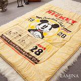 LAMINA  米奇1928日式床墊(黃)5CM-雙人