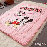 LAMINA  躲貓貓日式床墊(粉紅)5CM-雙人