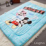 LAMINA  躲貓貓日式床墊(藍)5CM-雙人