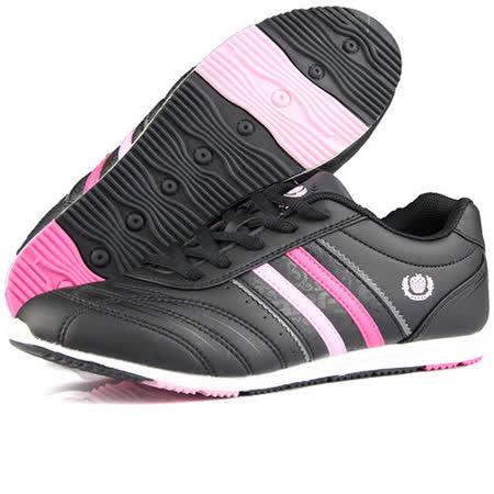 USA APPLE美國蘋果款5579黑粉紅色正品女士運動鞋滑板鞋旅遊鞋氣墊鞋休閒鞋登山鞋