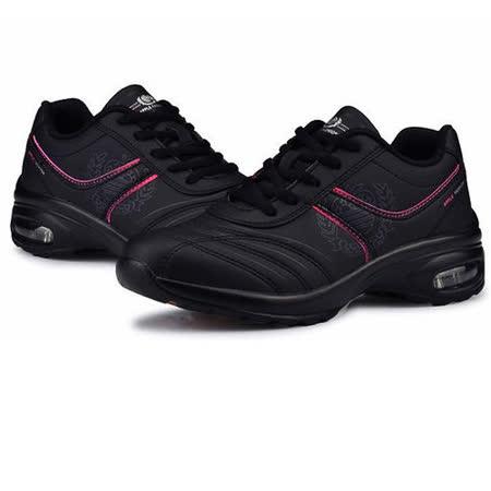 USA APPLE美國蘋果款5589黑粉紅正品女士運動鞋滑板鞋旅遊鞋氣墊鞋休閒鞋登山鞋