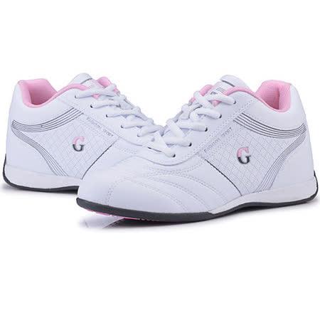 USA APPLE美國蘋果款5596白粉紅正品女士運動鞋滑板鞋旅遊鞋氣墊鞋休閒鞋登山鞋