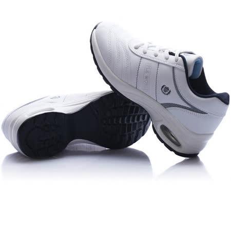 USA APPLE美國蘋果款5599白深藍正品女士運動鞋滑板鞋旅遊鞋氣墊鞋休閒鞋登山鞋