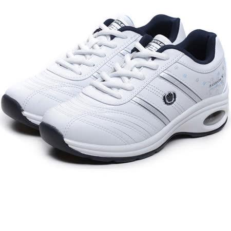 USA APPLE美國蘋果款6561白深藍正品女士運動鞋滑板鞋旅遊鞋氣墊鞋休閒鞋登山鞋