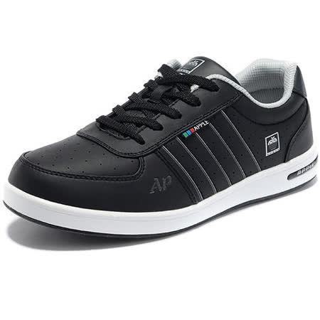 USA APPLE美國蘋果款8591黑色正品男士運動鞋滑板鞋旅遊鞋氣墊鞋休閒鞋登山鞋