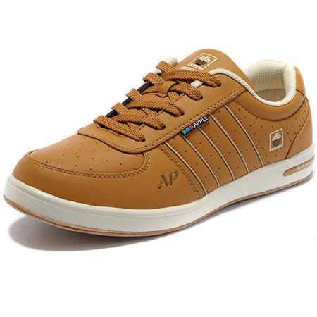 USA APPLE美國蘋果款8591黃棕米正品男士運動鞋滑板鞋旅遊鞋氣墊鞋休閒鞋登山鞋