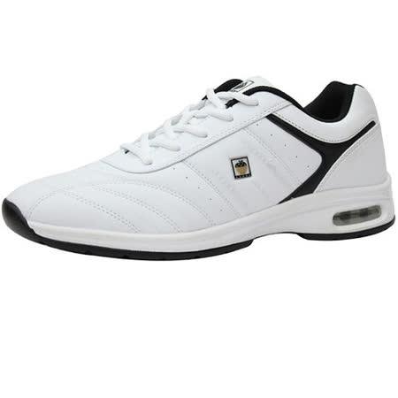 USA APPLE美國蘋果款8641A白色正品男士運動鞋滑板鞋旅遊鞋氣墊鞋休閒鞋登山鞋