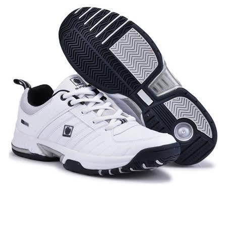 USA APPLE美國蘋果款8642白深藍正品男士運動鞋滑板鞋旅遊鞋氣墊鞋休閒鞋登山鞋