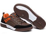 USA APPLE美國蘋果款8667淺棕黑正品男士運動鞋滑板鞋旅遊鞋氣墊鞋休閒鞋登山鞋