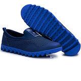 USA APPLE美國蘋果款8688深蘭寶蘭色正品男士運動鞋滑板鞋旅遊鞋氣墊鞋休閒鞋登山鞋