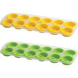 《TRUDEAU》檸片製冰盒(黃綠2入)