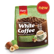 「超級」3 合 1 炭燒白咖啡(香烤榛果味) 525g