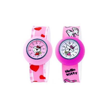 【Hello Kitty】果凍卷尺拍拍錶