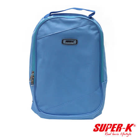 (購物車)《購犀利》美國品牌【SUPER-K】手提後背兩用包☆藍