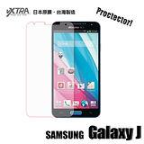 VXTRA Samsung Galaxy J 高透光亮面耐磨保護貼