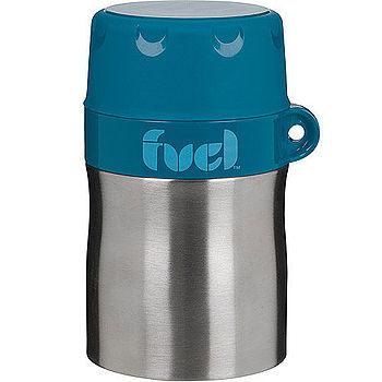 【好物分享】gohappy 購物網《FUEL》雙層保溫罐(小藍)價錢大 遠 百 吃 的