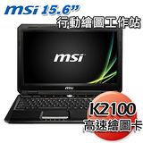 MSI GT60 15.6吋 i7-4700MQ K2100顯卡 2G獨顯 Win7行動繪圖筆電