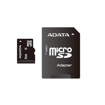 威剛MICRO SDHC 8G C4記憶卡