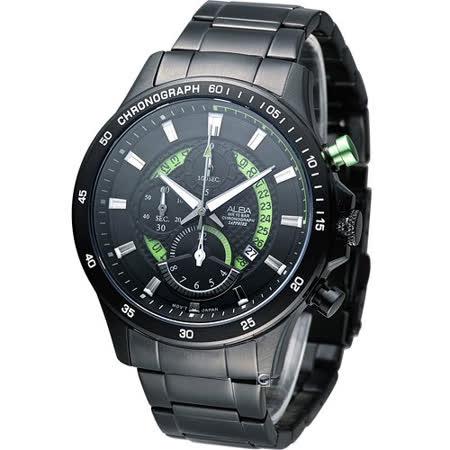 雅柏 ALBA 疾速奔馳計時腕錶 YM92-X257G AF8S81X1