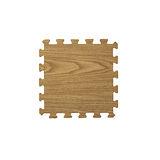 【新生活家】EVA耐磨橡木紋地墊-深色32x32x1cm30入