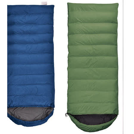 PUSH! 登山戶外用品-極致專業型四季羽絨紡絲棉睡袋