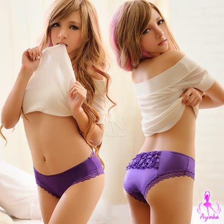 【Ayoka】純真迷戀!層層蕾絲內褲