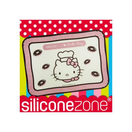 【Siliconezone】施理康Hello Kitty耐熱矽膠餅乾烤箱墊(小)