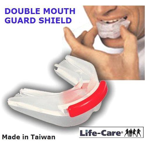 1sogo 股票0週年特賣 外銷歐美之防磨牙.大眾運動/雙層軟式護牙套(2牙套)限量30組