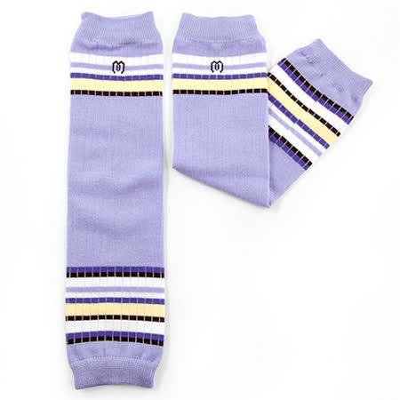 日本Leg'Woo襪套-運動時尚(粉紫)