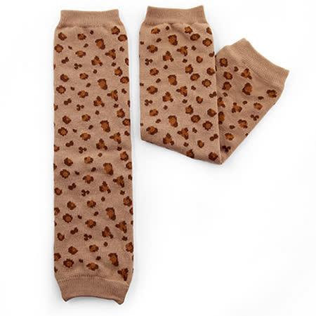日本Leg'Woo襪套-豹豹紋(米駝)