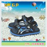 [GP]親子系列童鞋-舒適好穿磁釦設計(28-34尺碼)兩用涼拖鞋-G9149B-23(寶藍)共有三色