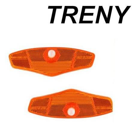 Z-1 腳踏車配件用品 TRENY 腳踏車專用反光板(2入)-3120