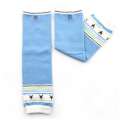 日本Leg'Woo襪套- 星星學院(粉藍)