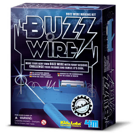 【4M】Buzz Wire Making Kit 科學系列之電路