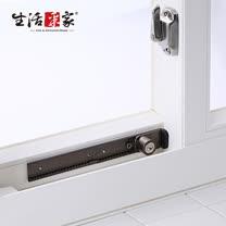 【生活采家】GUARD系列可調整式鋁窗鎖(附鑰匙)_棕色#34019