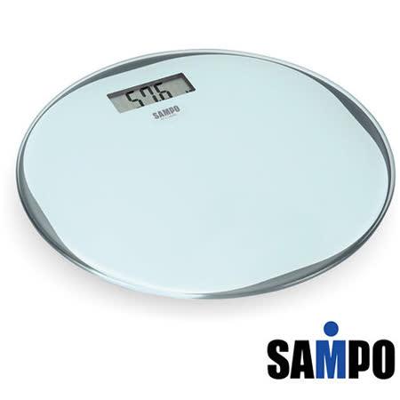 SAMPO聲寶 超薄型圓形電子體重計 BF-L1302ML