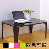 《BuyJM》鏡面加大折疊和室桌/摺疊桌/茶几桌(寬75公分)4色可選