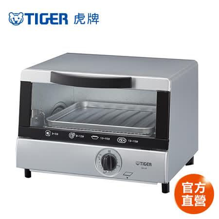 【私心大推】gohappy 線上快樂購[TIGER虎牌] 5公升溫控電烤箱 (KAJ-B10R)評價好嗎大 遠 百 高雄 美食