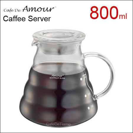 Amour 雲朵玻璃壺 800cc (適合1-6杯) AMG2207