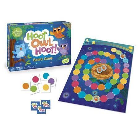 (任選) 諾貝兒益智玩具 歐美桌遊 小小貓頭鷹要回家 Hoot Owl Hoot! 合作桌遊